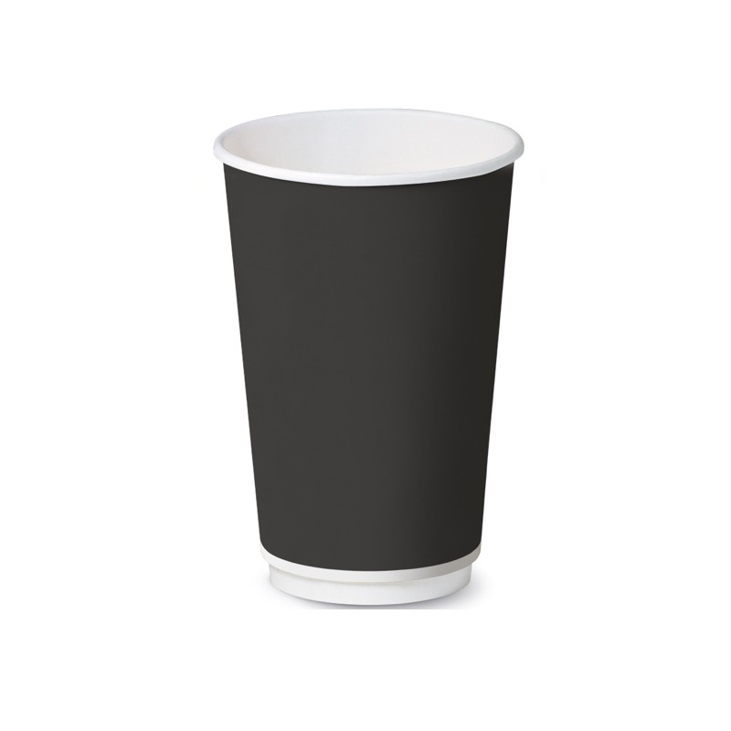 Bicchiere Black Double Wall 9oz
