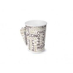 Bicchiere White Coffee con manico 4oz