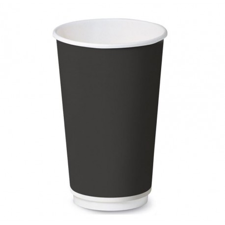 Bicchiere Black Double Wall 16oz
