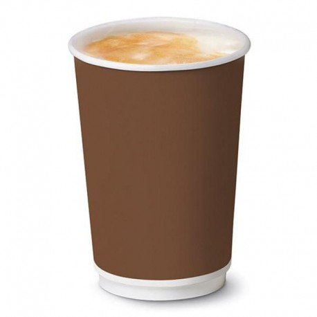 Bicchiere Brown Double Wall 16oz