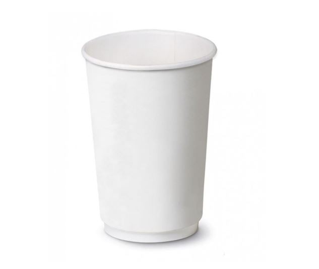 Bicchiere Bianco Double Wall 9oz