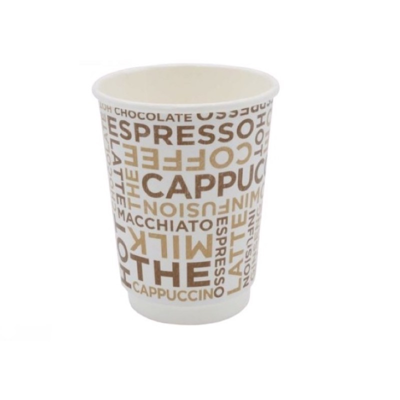 Bicchiere Coffee White Double Wall 9oz